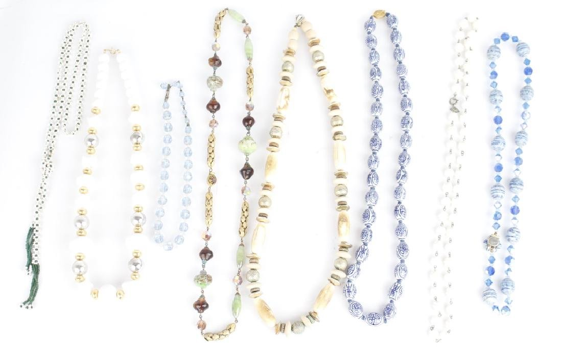 BEADED COSTUME NECKLACES