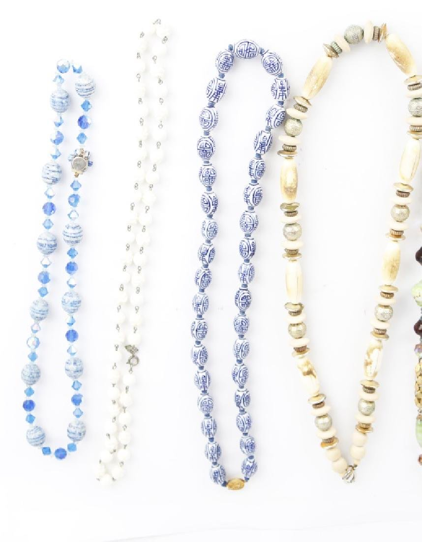 BEADED COSTUME NECKLACES - 2