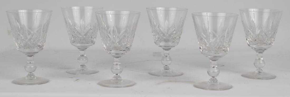 STUART CRYSTAL WINE GLASSES GLASSES LOT OF 6