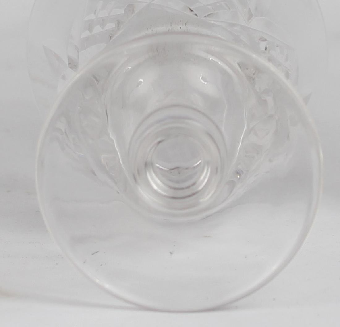 STUART CRYSTAL WINE GLASSES GLASSES LOT OF 6 - 2
