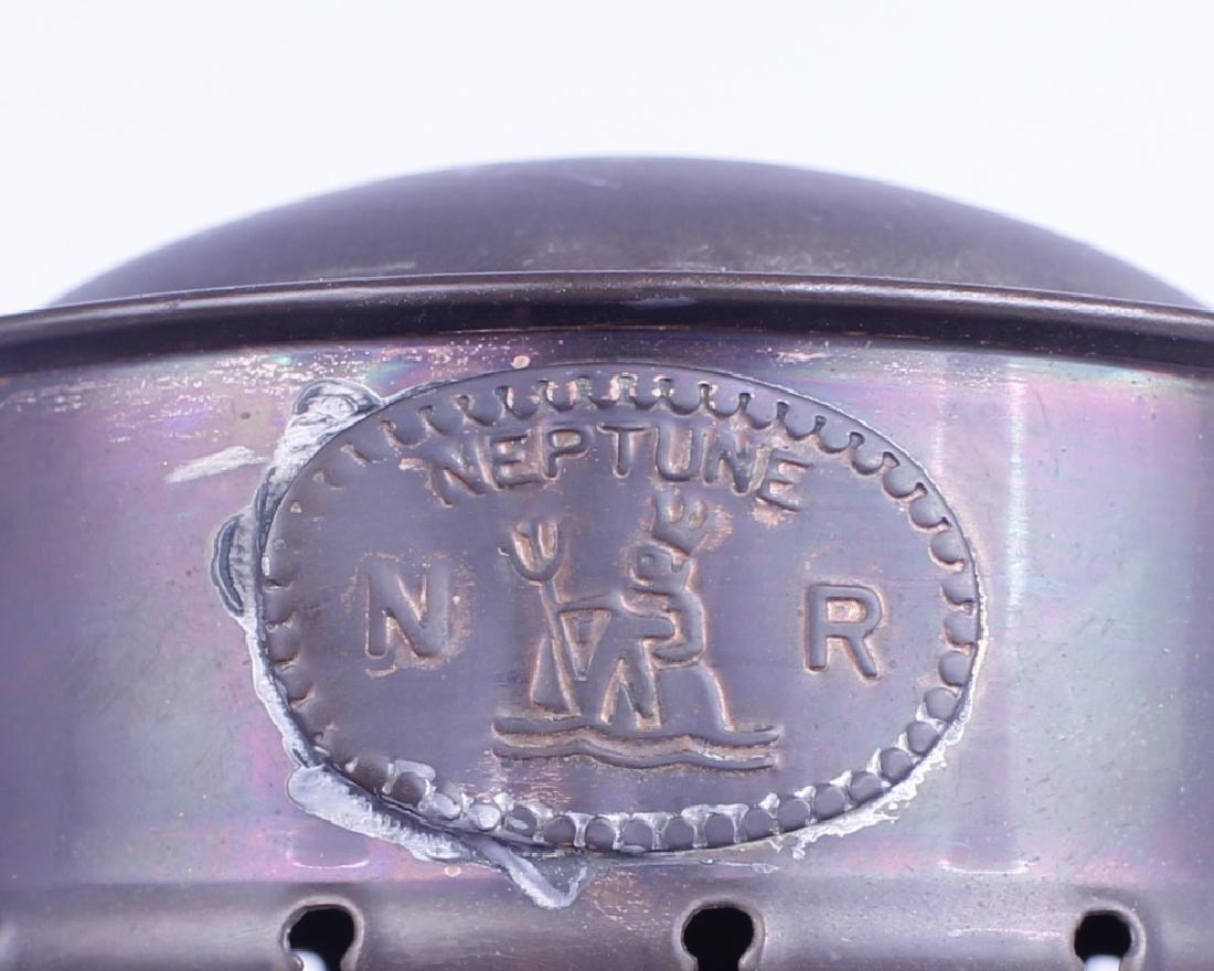 NEPTUNE N R BRASS RAILROAD GAS LANTERN - 2