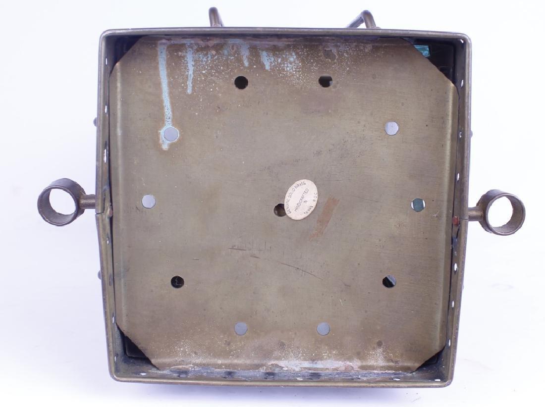 NEPTUNE N R BRASS RAILROAD GAS LANTERN - 3