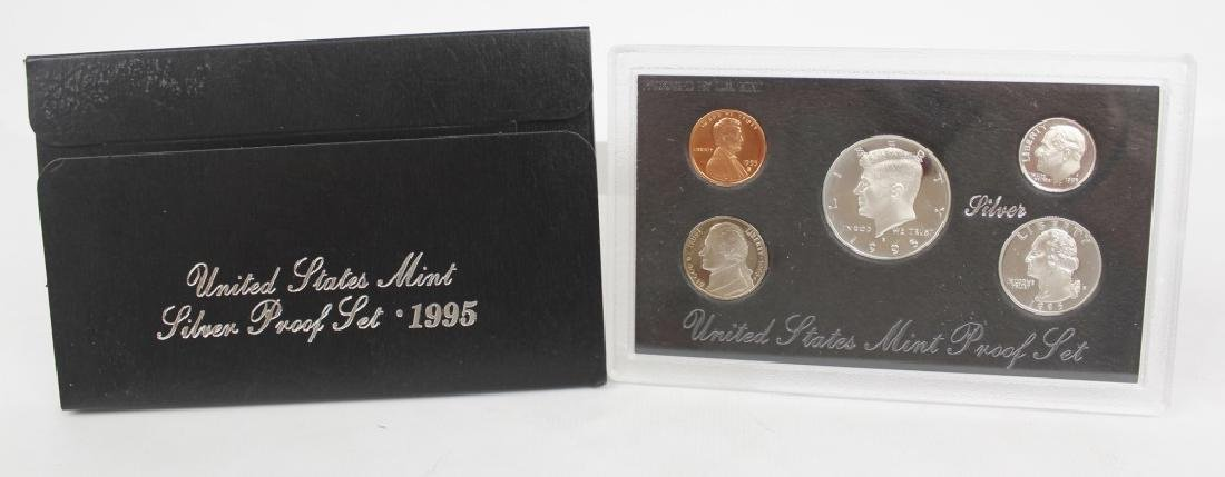 US MINT SILVER PROOF SET 1995