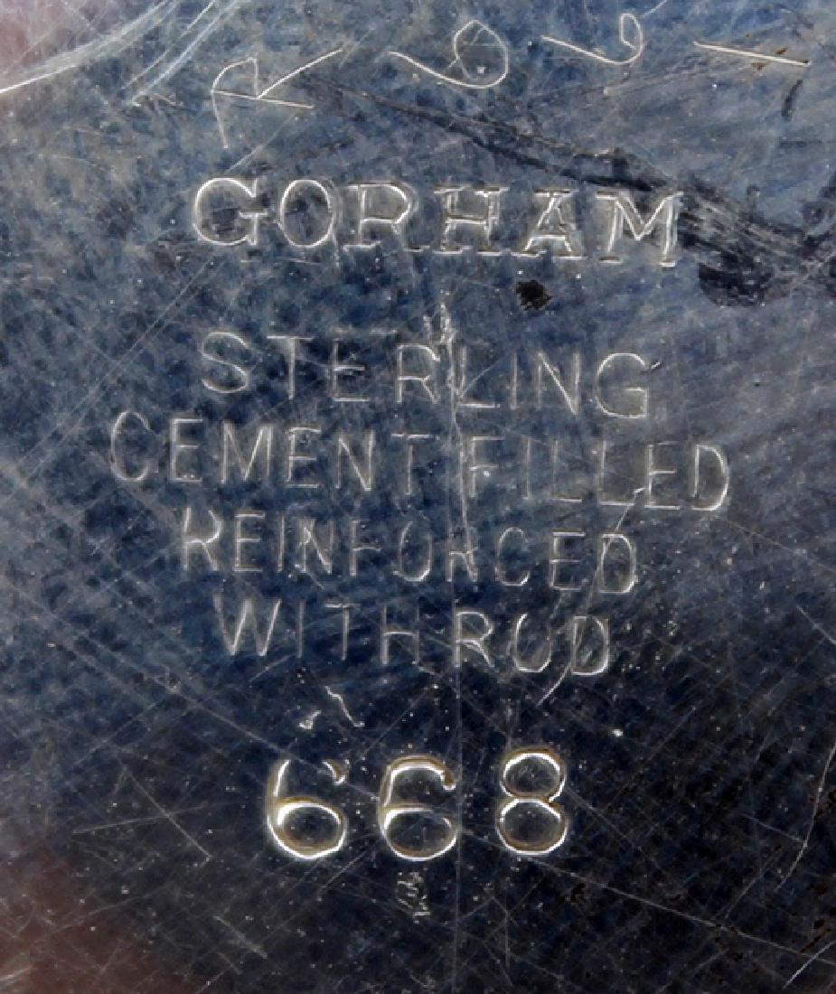 STERLING WEIGHTED GORHAM CANDELABRA - 2