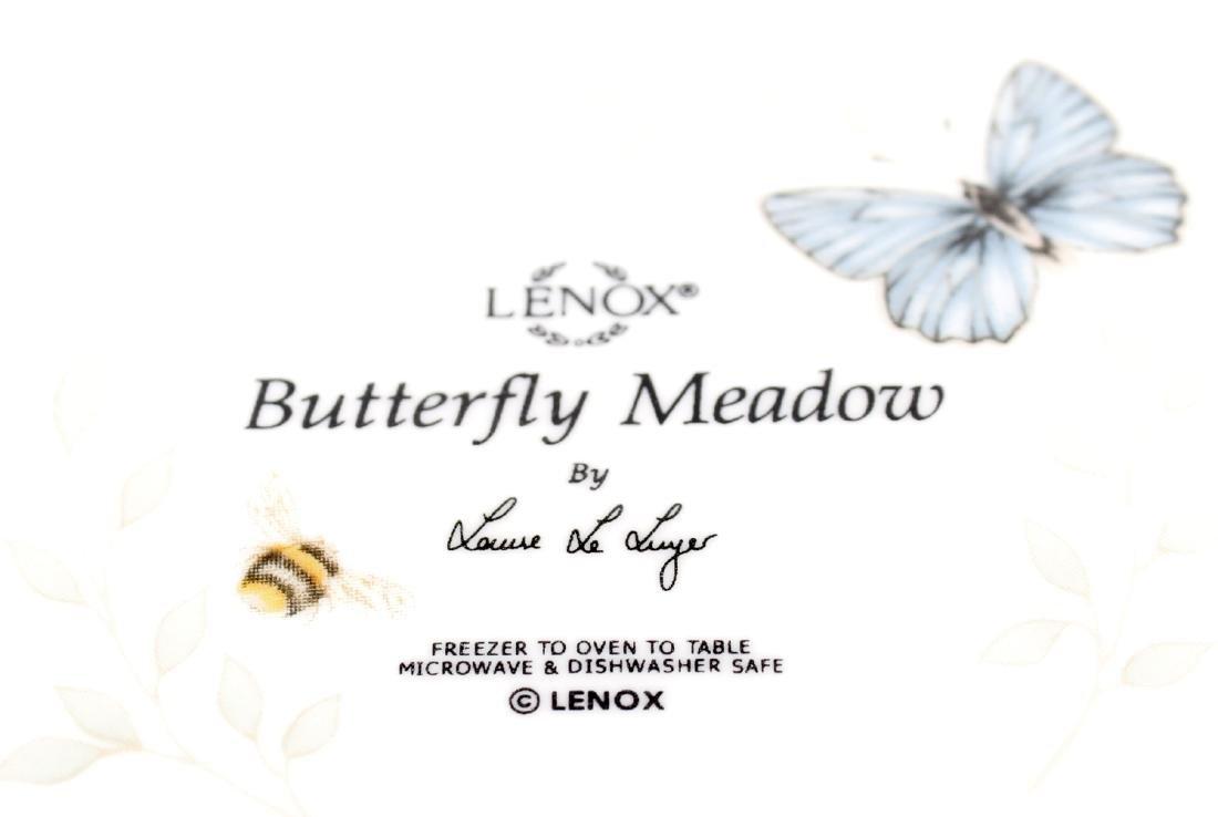 LENOX BUTTERFLY MEADOW OVAL BAKER - LOT OF 2 - 3