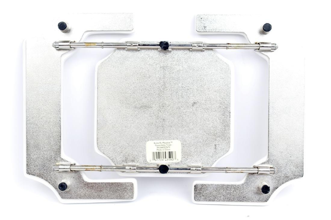 LENOX PORCELAIN BUTTERFLY MEADOW TRIVET - 3