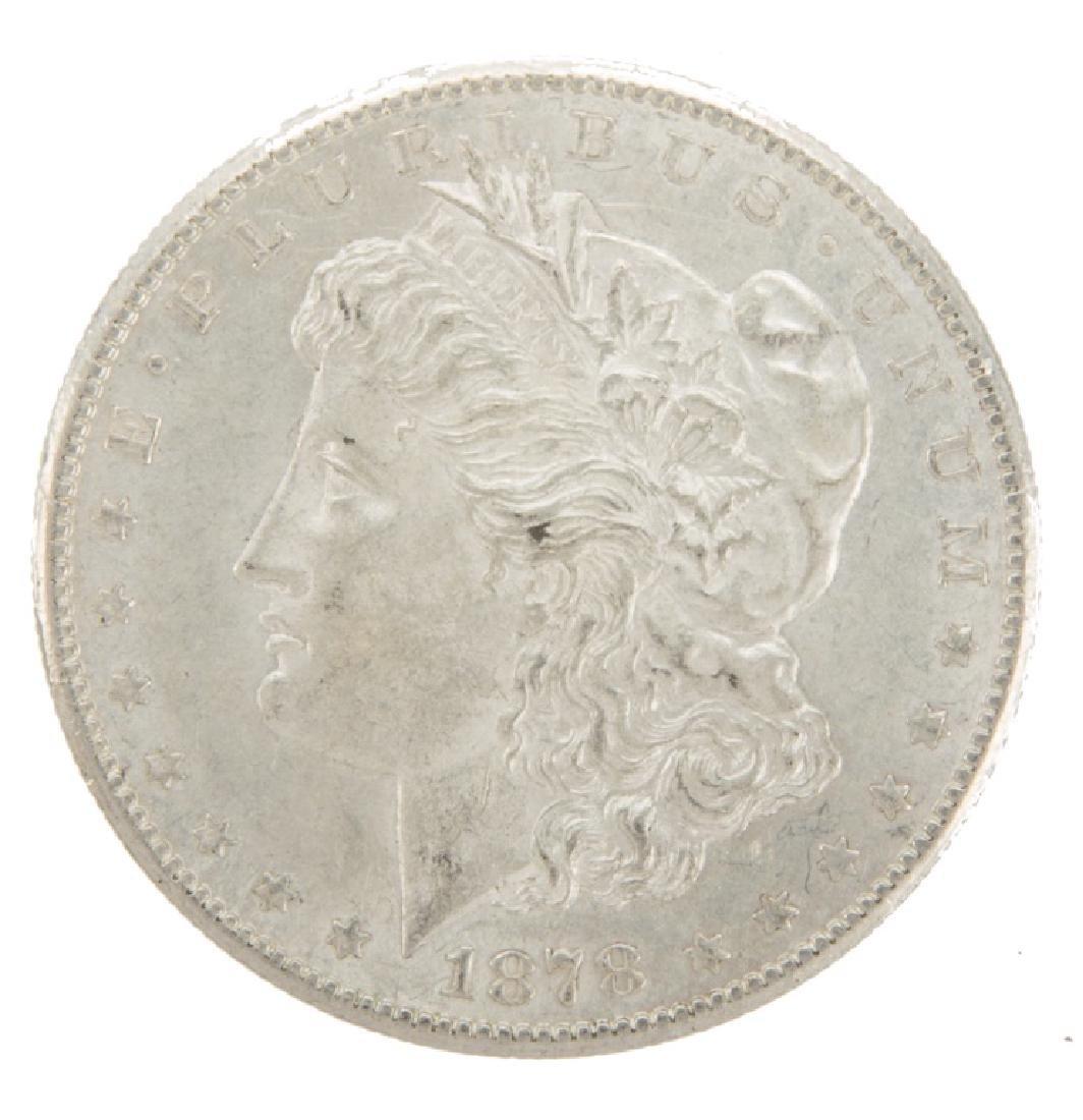 UNITED STATES SILVER MORGAN DOLLAR 1878S