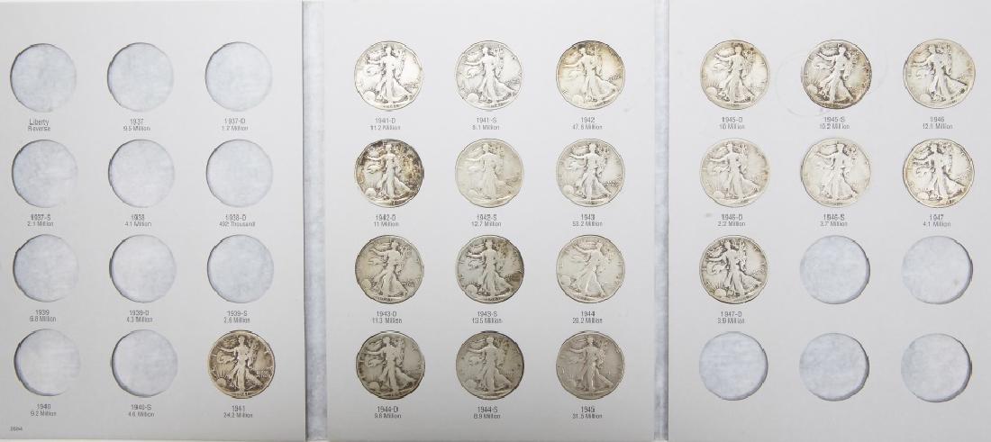 SILVER WALKING LIBERTY HALF DOLLARS 1941-1947 (20)