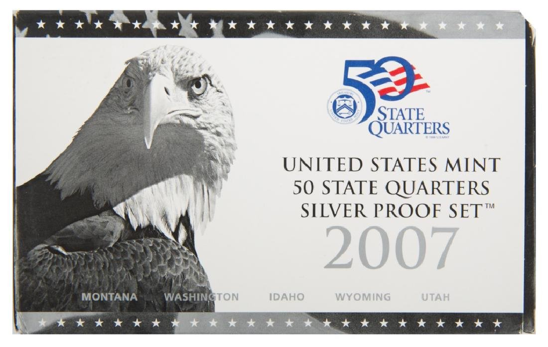 2007 UNITED STATES SILVER QUARTER PROOF SET