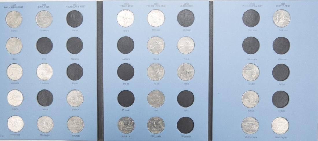 COLLECTORS BOOKS OF U.S. STATE QUARTERS LOT OF 3 - 2