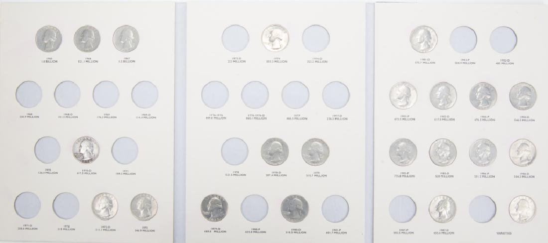 COLLECTORS BOOKS OF U.S. STATE QUARTERS LOT OF 3 - 4