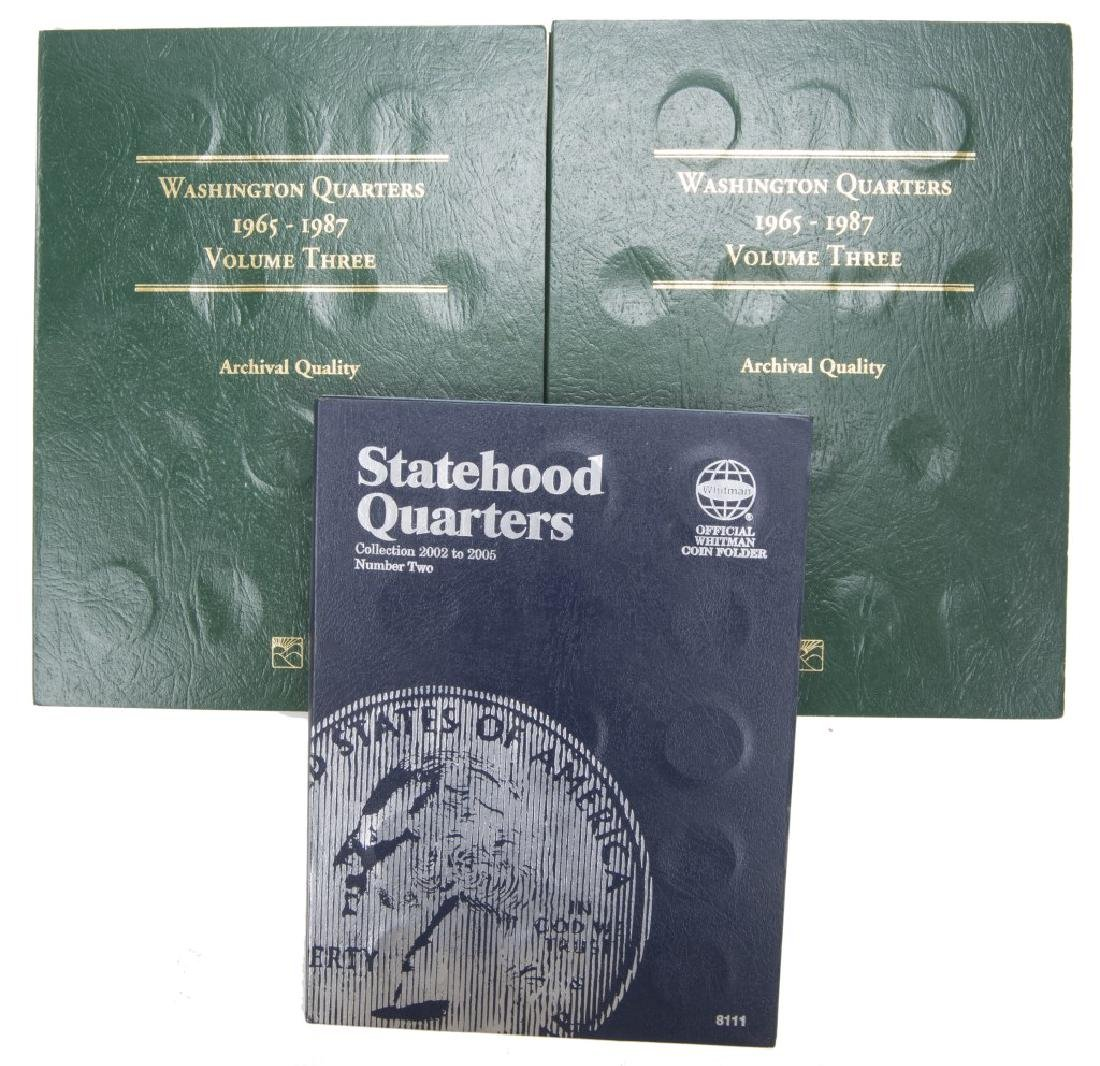 COLLECTORS BOOKS OF U.S. STATE QUARTERS LOT OF 3 - 5