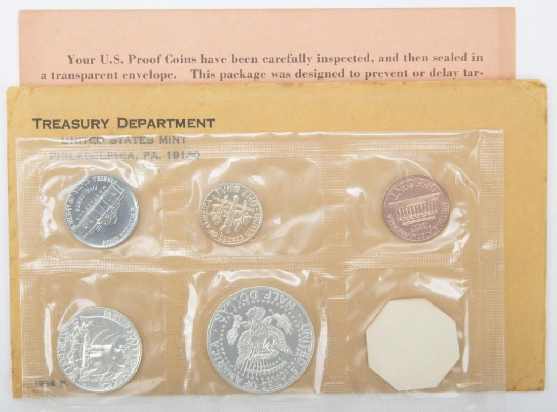 1964 UNITED STATES MINT SILVER PROOF SET - 2