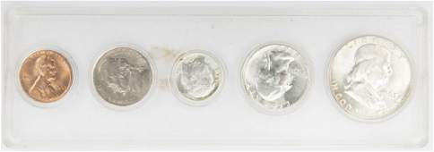 1963 UNITED STATES SILVER UNCIRCULATED MINT SET