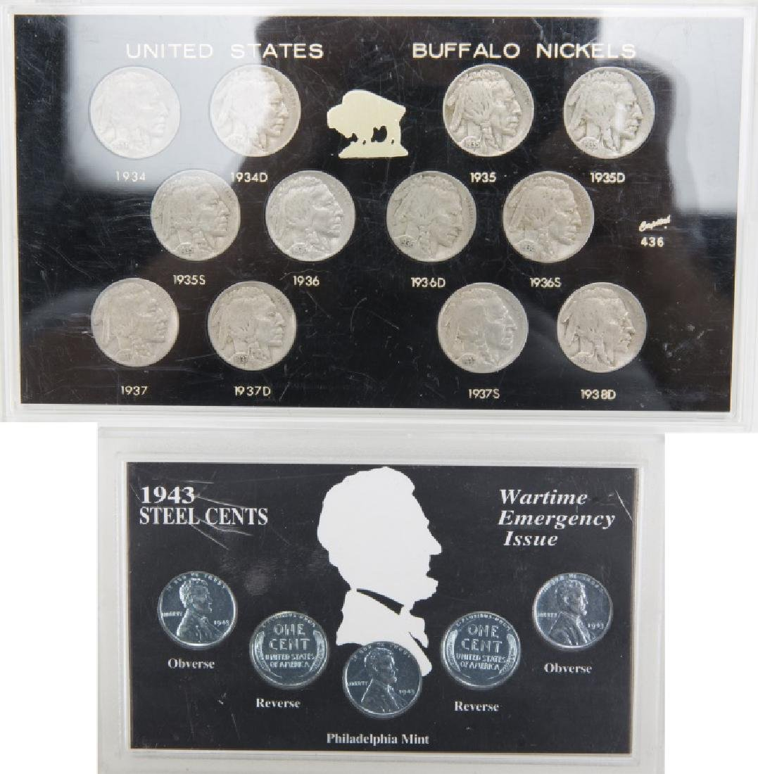 UNITED STATES COIN SETS LOT OF 9 - 3