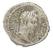 SEPTIMIUS SEVERUS ANCIENT ROMAN SILVER COIN