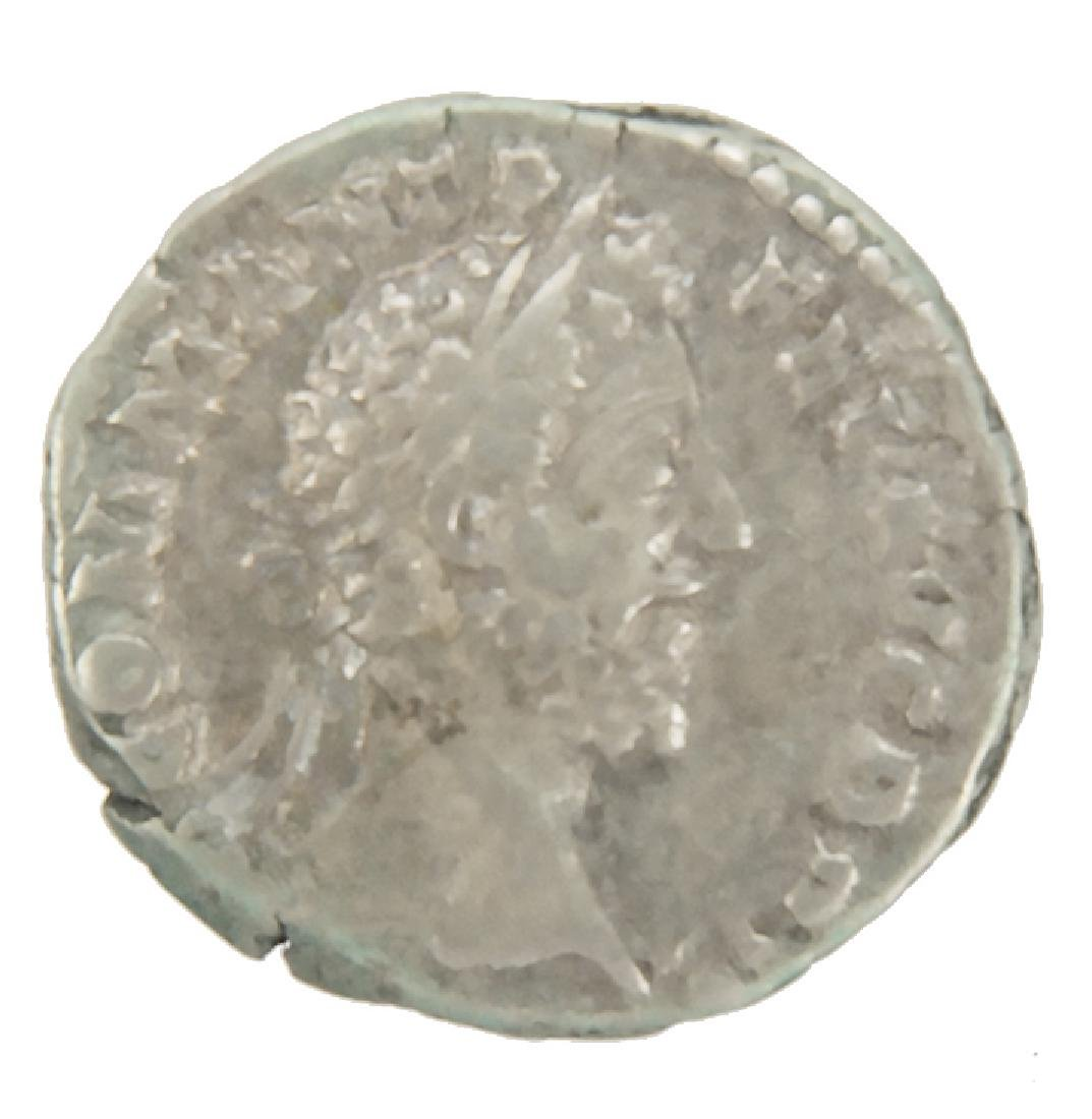 ROMAN SILVER COMMODUS 172-192 AD ANCIENT COIN