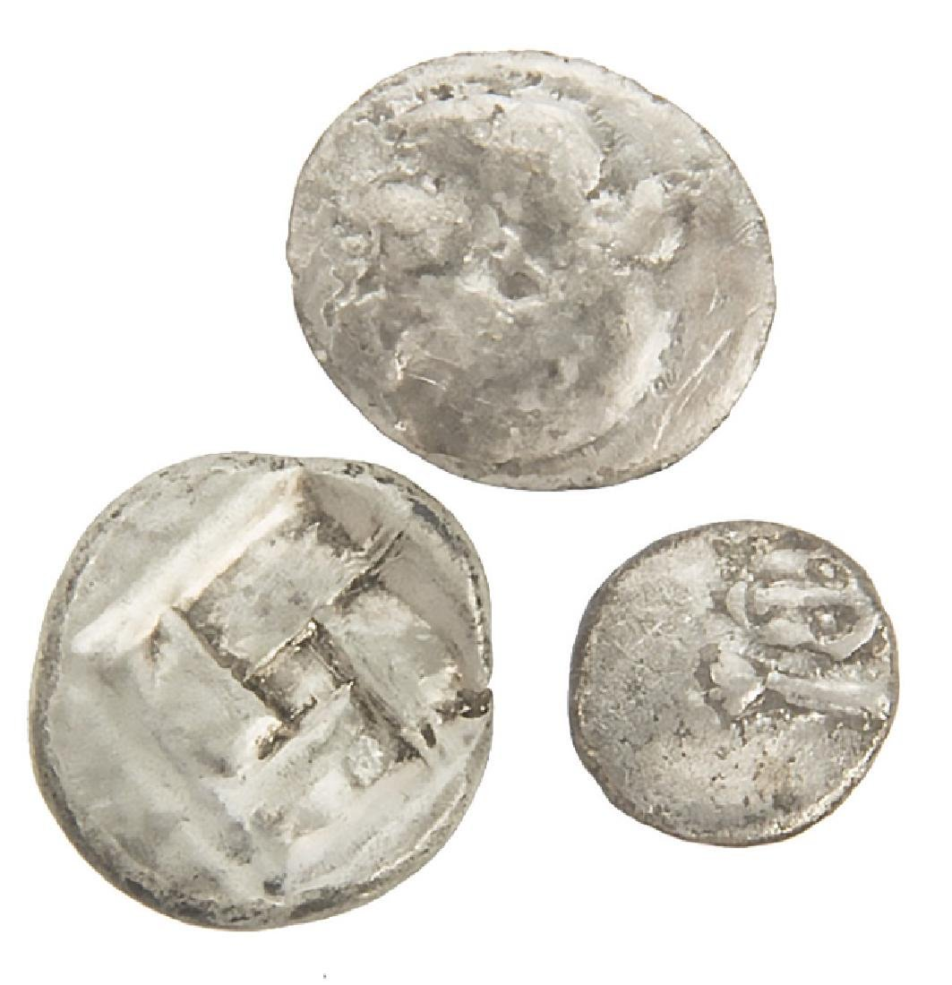 ANCIENT SILVER ROMAN COINS LOT OF 3 - 3