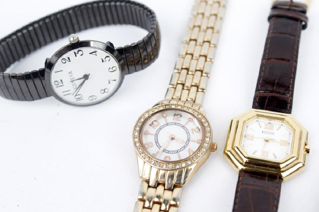 WRIST AND POCKET WATCHES LOT OF 6 - 2