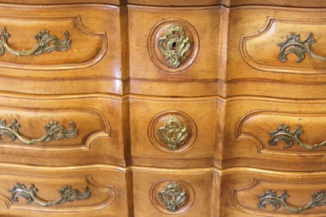 OAK FRENCH INSPIRED CHEST OF DRAWERS - 2
