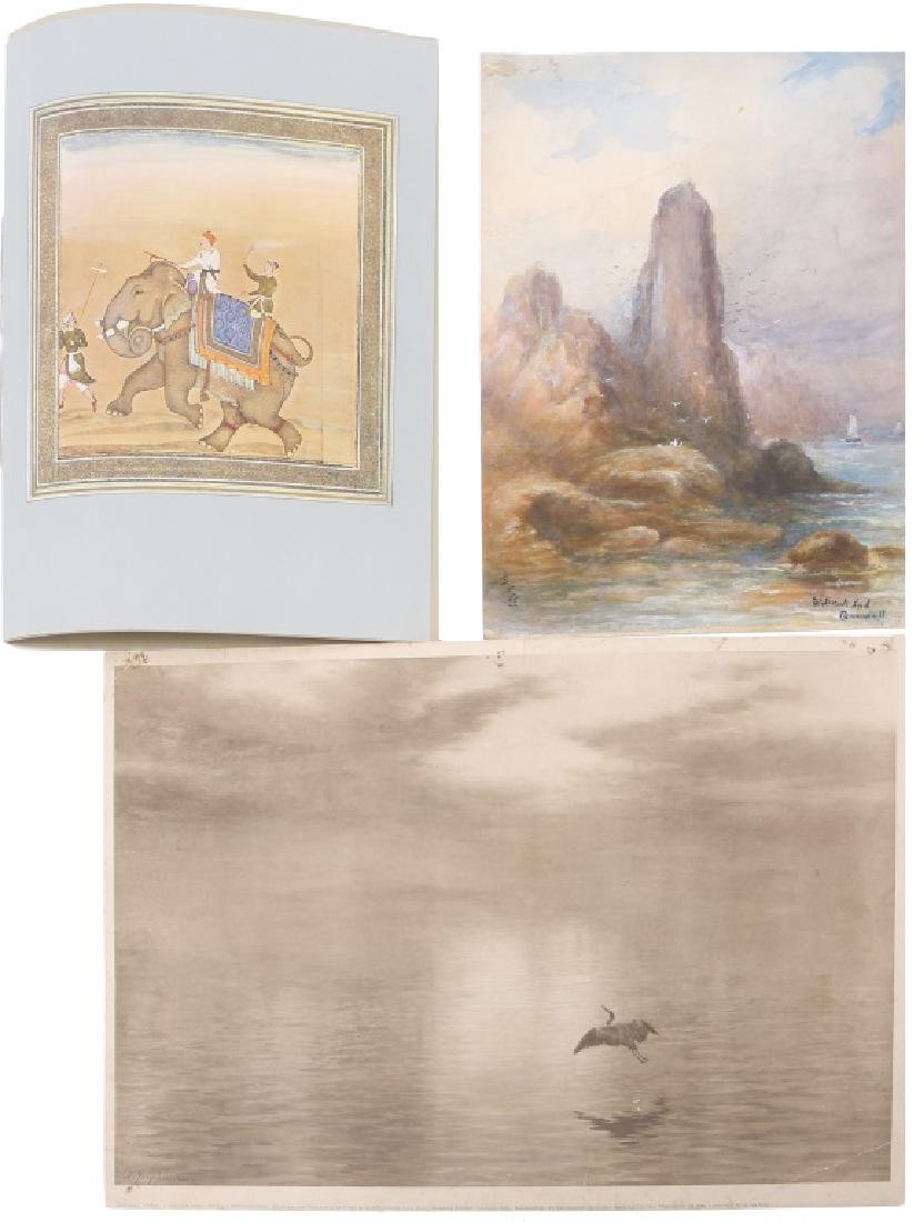UNFRAMED ARTWORK - WATERCOLOR, PRINT, MEDIA