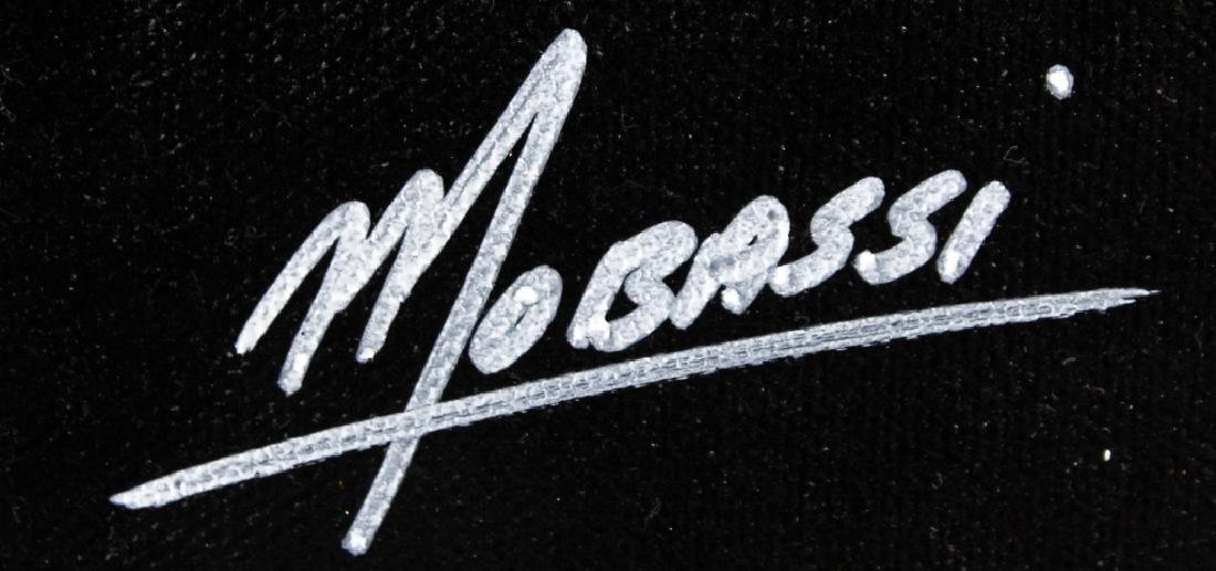 MOBASSI ORIGINAL MIXED MEDIA ON CANVAS - 2