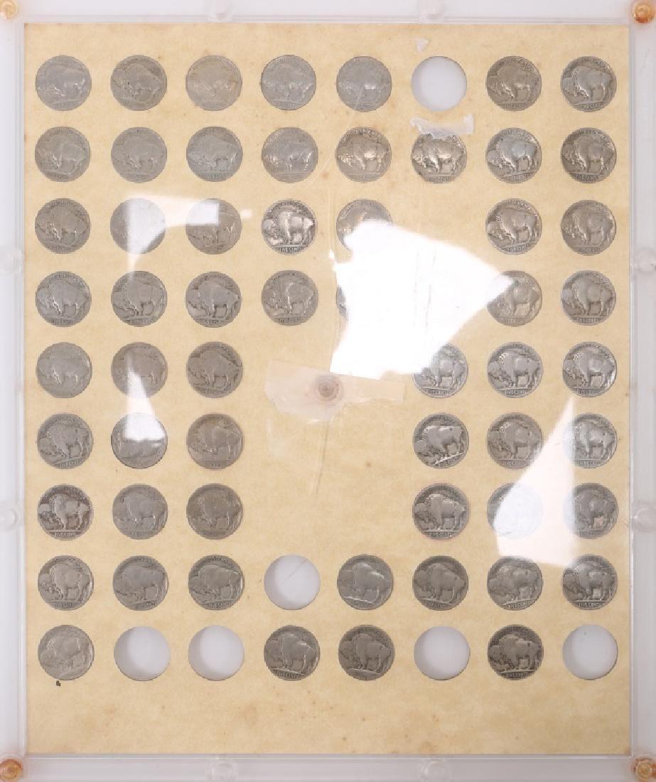 U.S. BUFFALO NICKEL PARTIAL SET 1913 - 1938 - 2