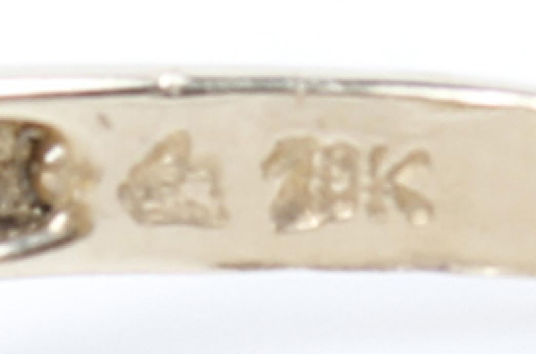 10K YELLOW GOLD DIAMOND LADIES FASHION RING - 3
