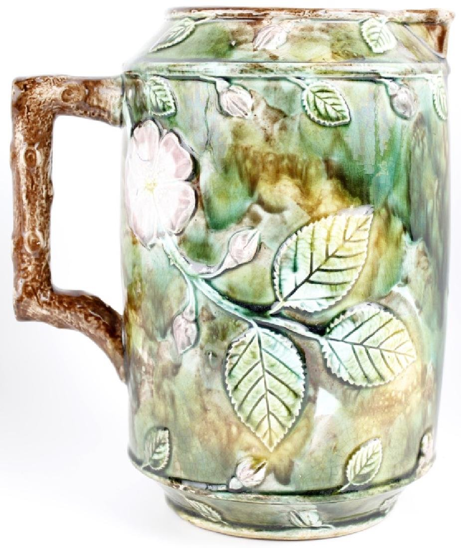 HAND CRAFTED POTTERY WATER PITCHER