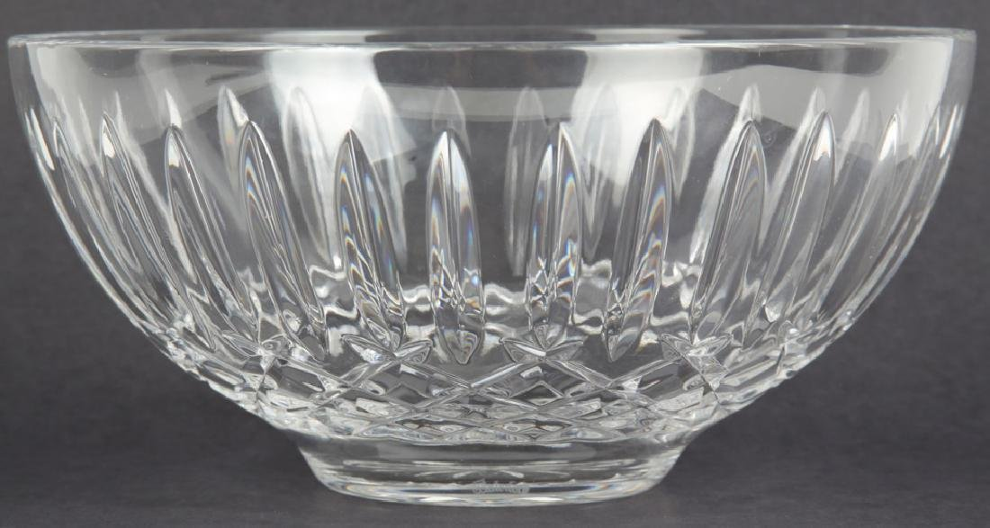 WATERFORD CUT CRYSTAL CENTERPIECE BOWL