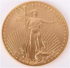 1997 $50 1OZ FINE GOLD AMERICAN EAGLE BULLION COIN