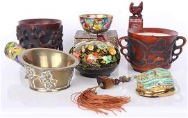 ASSORTED EASTERN COLLECTIBLES - CHINESE & OTHER