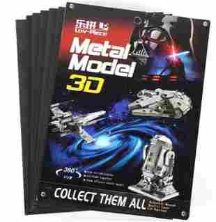 LOV-PIECE METAL MODEL 3D STAR WARS COLLECTIBLES -7