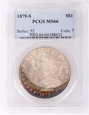 1879-S PCGS MS66 MORGAN SILVER DOLLAR