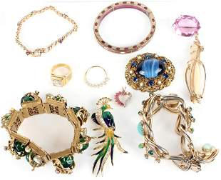 ASSORTED COSTUME JEWELRY - LOT OF 11