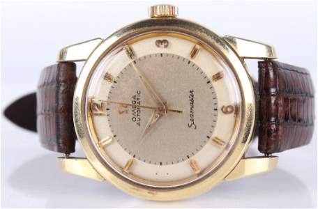 OMEGA AUTOMATIC SEAMASTER GOLD CAP 2577 WRISTWATCH