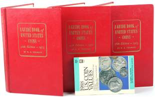 US COIN GUIDE BOOKS - 1973 1971 1963 1988