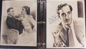 HISTORICAL AUTOGRAPHED PHOTO COLLECTION