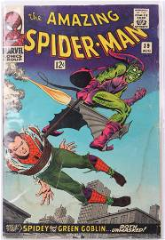 THE AMAZING SPIDER-MAN #39 GRADED 2.0 GREEN GOBLIN