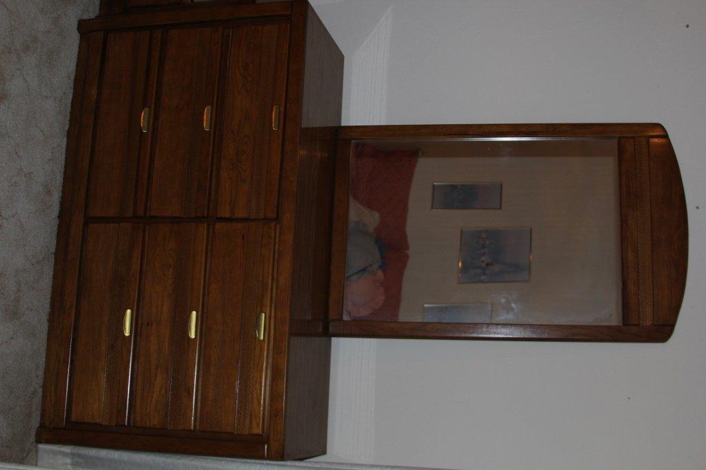 3 PIECE FLORIDA FURNITURE INDUSTRIES BEDROOM SET - 4