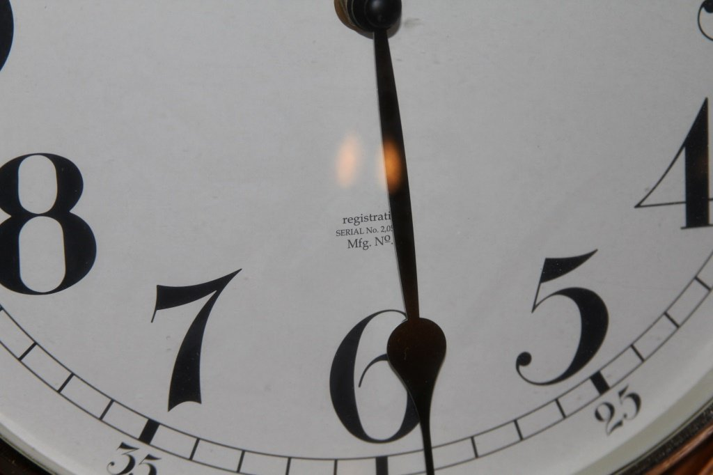 STERLING & NOBLE PENDULUM WALL CLOCK - 3