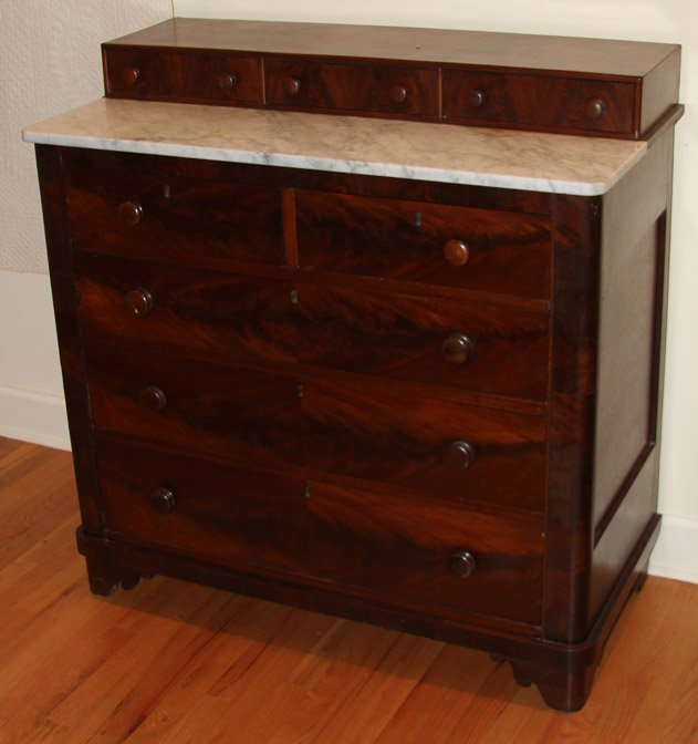 EMPIRE STYLE CHEST OF DRAWERS