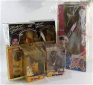 COLLECTOR DOLLS ERKEL MICHAEL JACKSON LA LAKERS