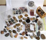 LARGE ROCK AND MINERAL COLLECTION