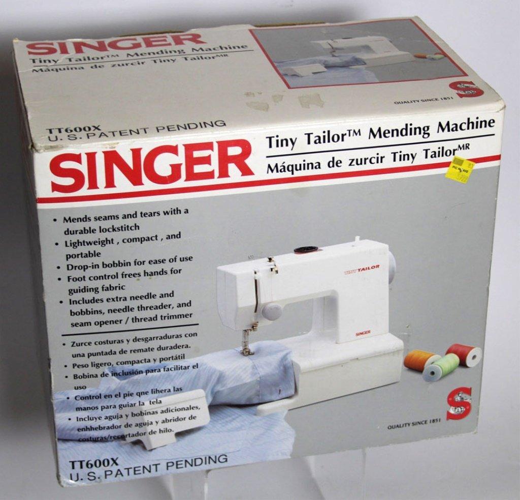 SINGER TINY TAILOR MENDING MACHINE TT600X