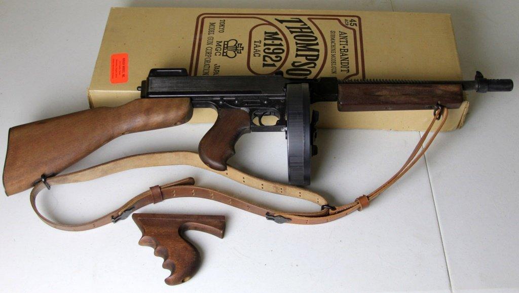 MGC THOMPSON SUBMACHINEGUN M1921 MODEL GUN