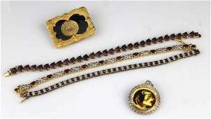 VERMEIL GOLD PLATED STERLING JEWELRY LOT