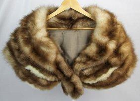 Ladies Mink Two Tone Fur Stole