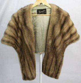Burans Ladies Mink Fur Stole