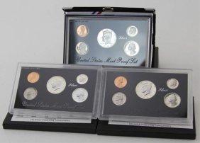 (3) 1992 & 1994 Us Silver Mint Proof Sets